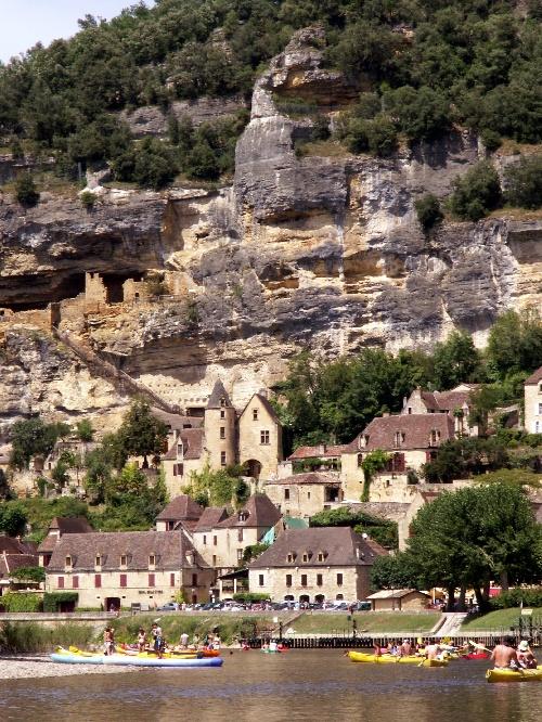 Le long de la Dordogne ...