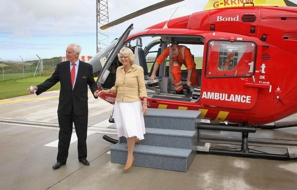 Camilla à Newquay