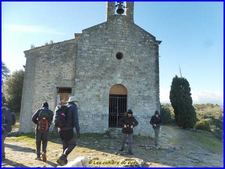 La Castrum du XIIème siècle de Rougiers, première balade 2021 des AH.