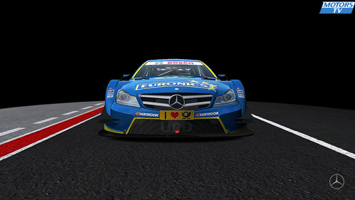Team Art Grand Prix Gary Paffett Mercedes - AMG C-Coupe