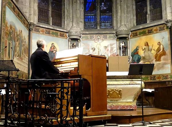 Un très beau concert de Grand-Orgue et de Flûte traversière a eu lieu dans l'église Saint-Nicolas à Châtillon sur Seine