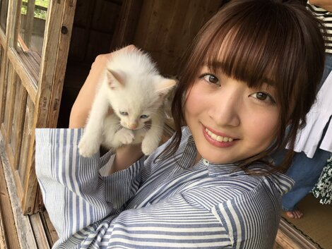 Celebrity Pics : Pictures of Kome Watanabe during the photo shoot for no.26 of 2017 of magazine Weekly Playboy