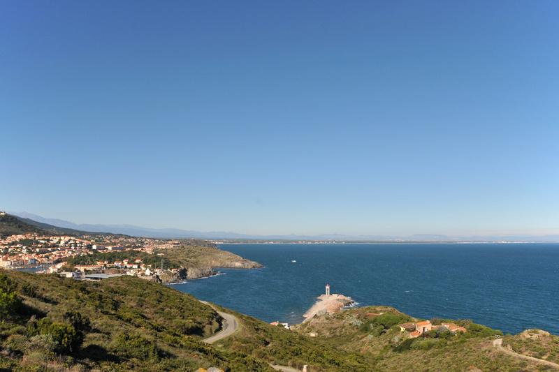 le sentier littoral à Port-Vendres