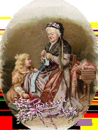 Bonne fête à toutes les Mamies..