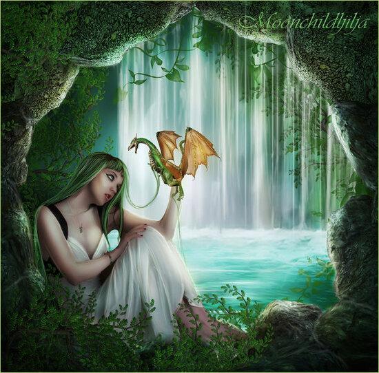 Des fées et des fleurs