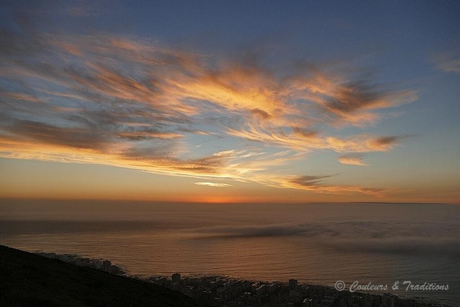 L'heure bleue à Cape Town