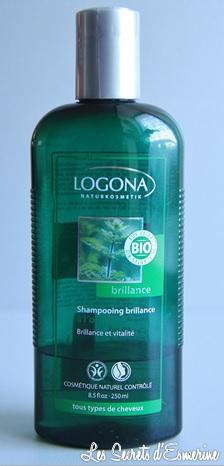 logona, ortie, shampoo, shampooing, brillance, tous types de cheveux, les secrets d'esmerine