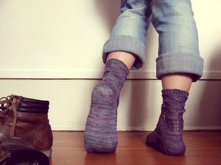 Et mes chaussettes ...