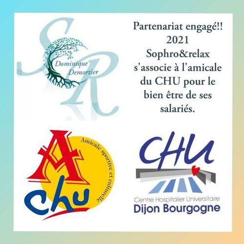 Nouveau Partenariat avec le CHU de Dijon et son CE
