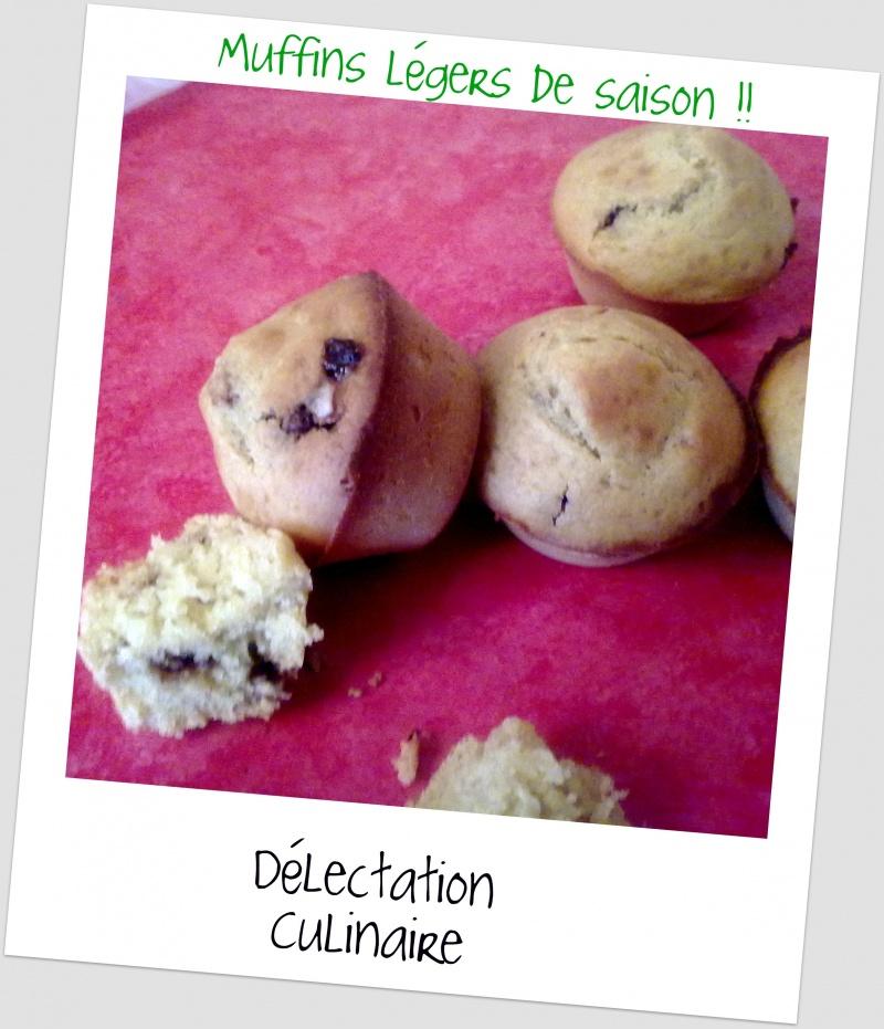 Muffins semi complet à l'orange et aux pépites de Ferrero Rocher