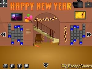 Jouer à Vintage day new year escape 6 final