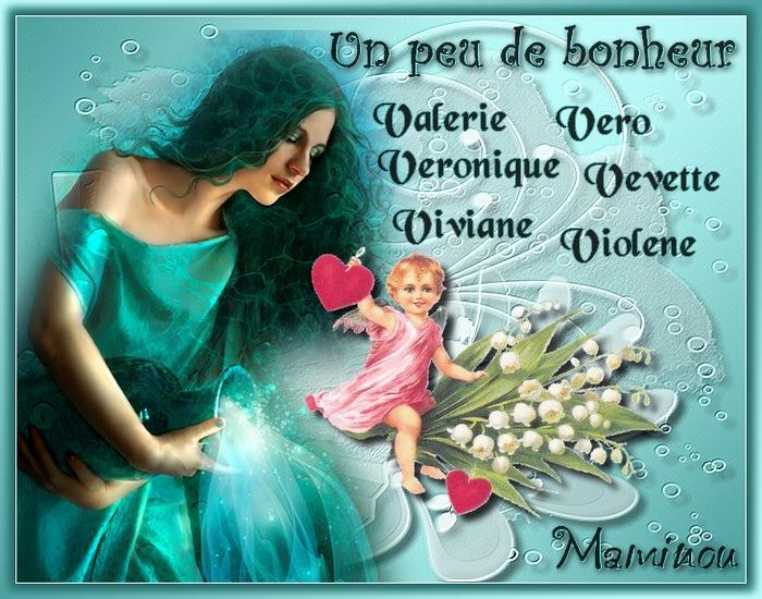 PORTE  BONHEUR   (V)