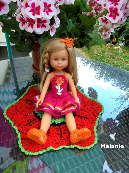Mélanie aussi !