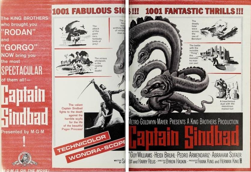 captain sindbad box office usa 1963