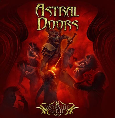 "ASTRAL DOORS - ""Night Of The Hunter"" Clip"