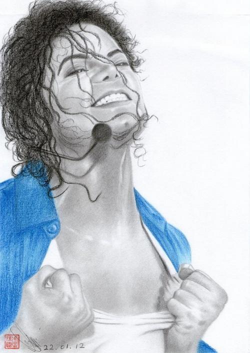 Michael Jackson dessiné par ses fans ou admirateurs