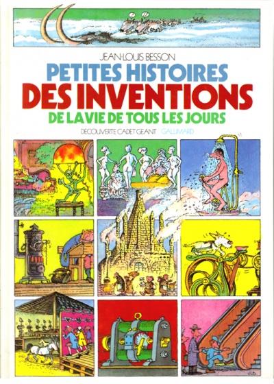 Le petit furet : Petites histoires des inventions - J.L.Besson