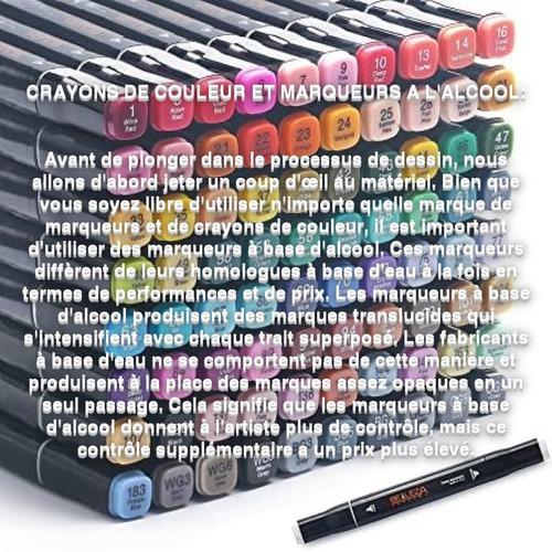 Dessin et peinture - vidéo 3539 : Comment dessiner une barre chocolatée de manière réaliste ? -  Crayons de couleur et marqueurs.
