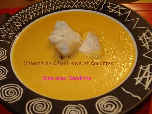 Un Velouté de Céleri-rave et Carottes