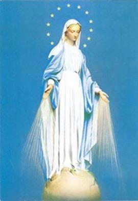Les 12 étoiles de Marie, correspondent à 12 points d'énergie dans notre tête