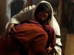 Guérison de la femme courbée un jour du sabbat
