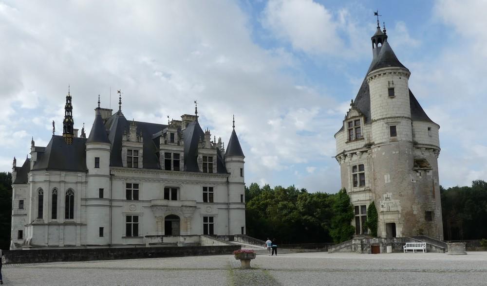 Le château de Chenonceau...