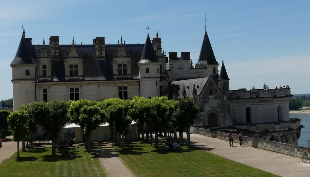 Le Château Royal d'Amboise : les jardins...