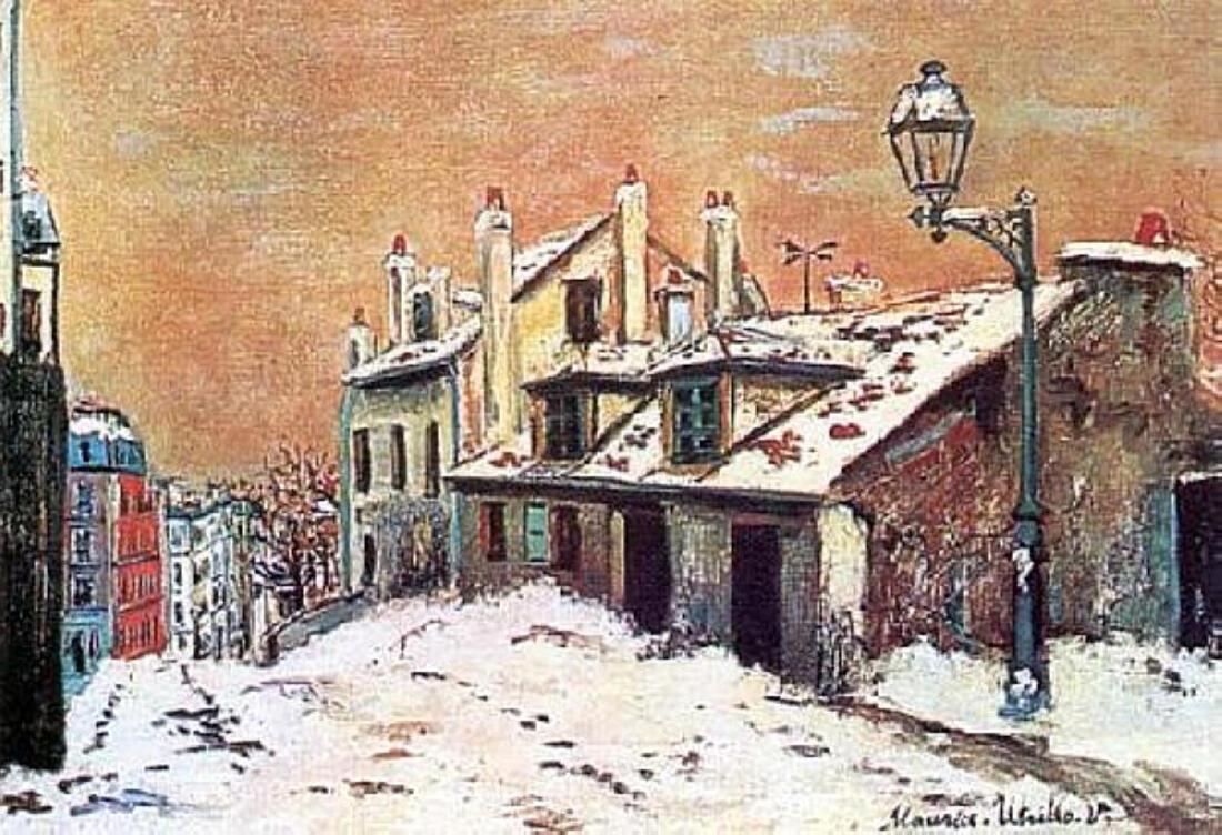 Maurice Utrillo (1883-1955)/ le peintre de Montmartre