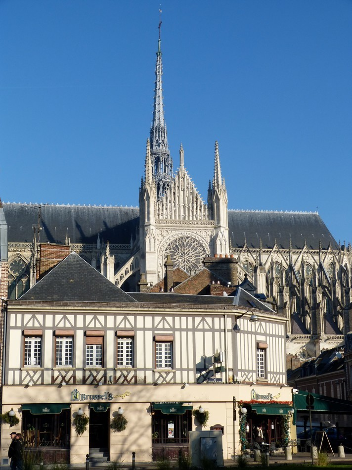 Cathédrale d'Amiens, ses lumières.
