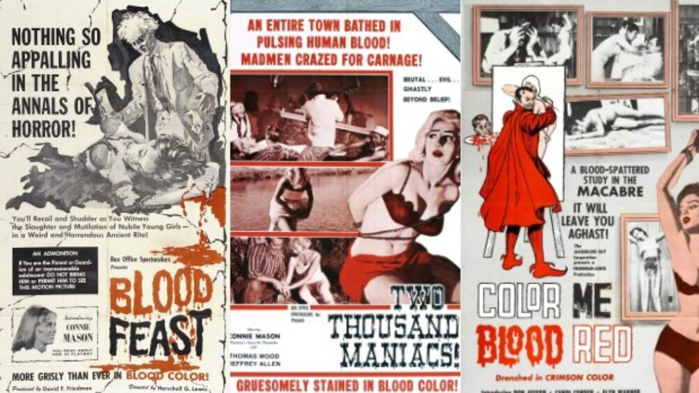 COLOR ME BLOOD RED BOX OFFICE USA 1965