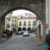 Vue d\'une rue à Evora 06.12.2008