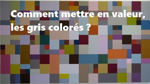 Dessin et peinture - vidéo 2669 : Comment ne pas se passer des gris colorés ? toutes les techniques et astuces.
