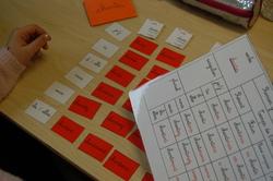 Les petits verbes de Montessori