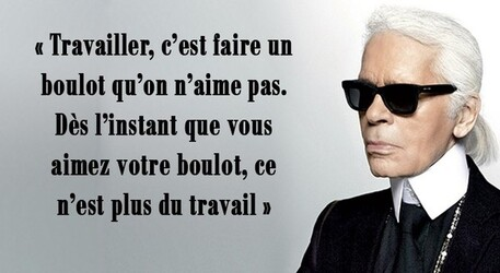 Citations de Karl Lagerfeld ...