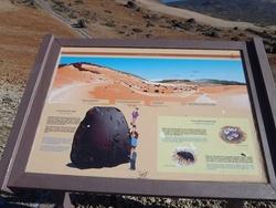 Le parc national du Teide , c' est  ...