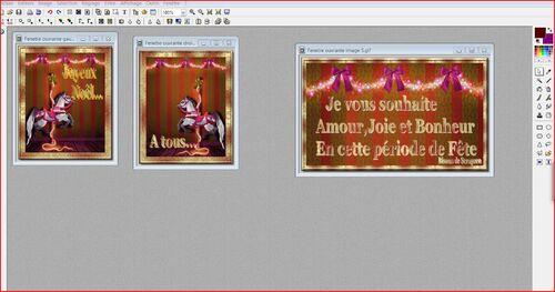 Etape 84 Comment préparer une fenêtre d'animation ouvrante avec photofiltre Tutoriel pas à pas La base 1/3