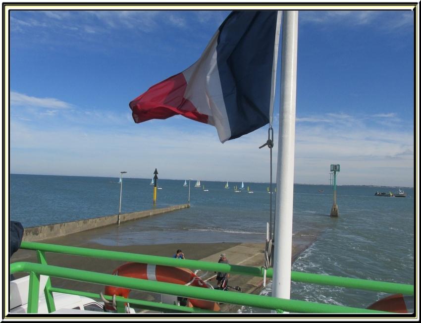 A toute vapeur vers l'île d'Aix