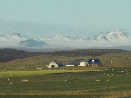 Nature en Islande.