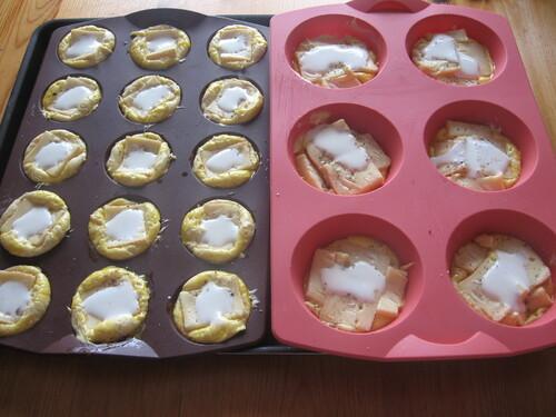 Mini-Tartelettes Briochées au Maroilles