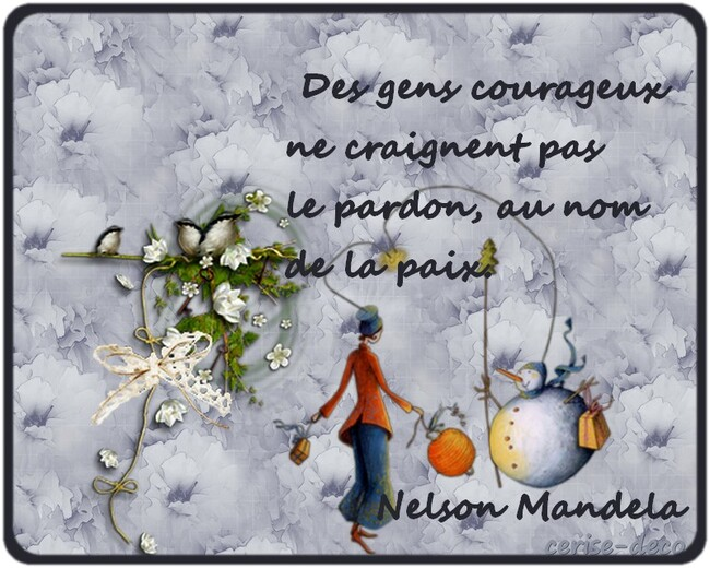citation illustrée de nelson mandela