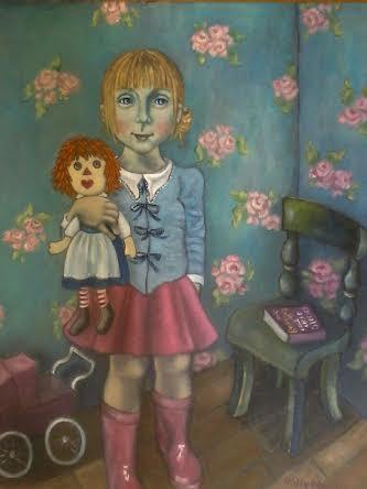 """La Petite Fille, avec Poupee """""""