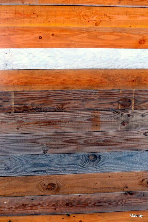 Des planches en bois !