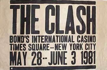 La Saga du Clash - épisode 25: Chez Bonds à NY