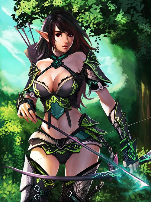 Elf Archer.