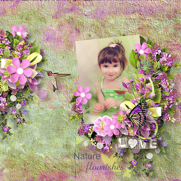 Flowery Escape by Doudou's D