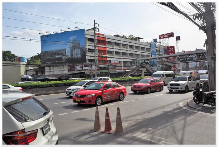 Trafic routier à Bangkok. Thaïlande