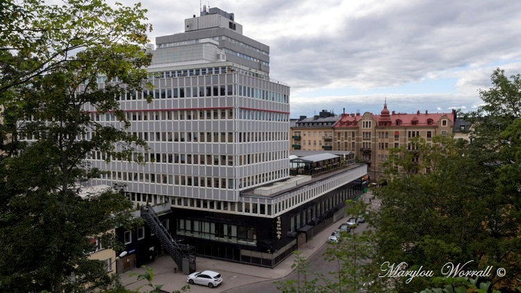 Espace vert et jardin du roi à Stockholm