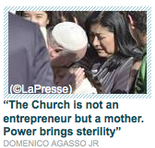 titre du remarquable Vatican Insider