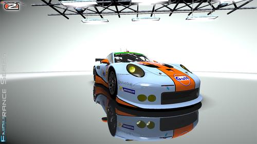 16LM Gulf Racing UK Porsche Flat6 RSR