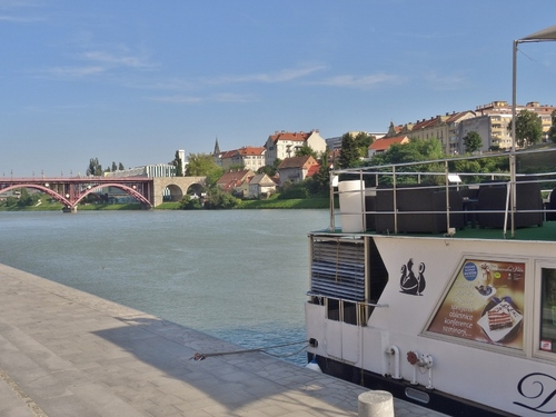 Maribor en Slovénie: les bords de la Drave (photos)